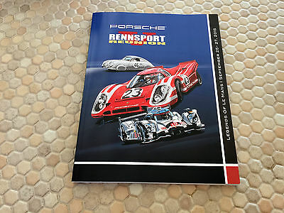 Porsche Rennsport Reunion V Laguna Seca Official Program Book Brochure 2015.
