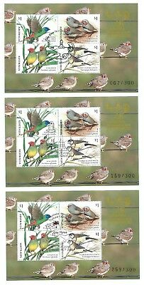 Canberra Stamp Show 2018 Set 3 Daily Overprinted MS