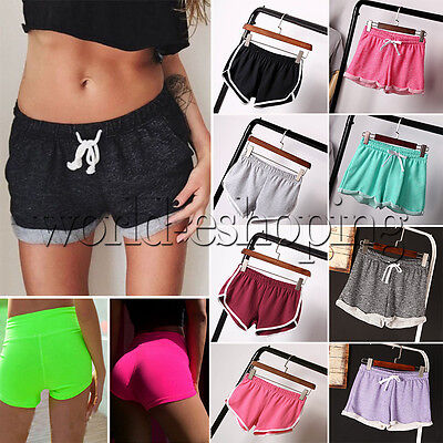 Estate Donna Slim da palestra sportive Yoga Sport Ladies Shorts spiaggia casual