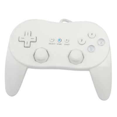PRO Remote Controller Gampad GamePads Joystick Classic for Nintendo Wii White