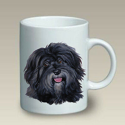 15 oz. Ceramic Mug (LP) - Black Havanese 47092