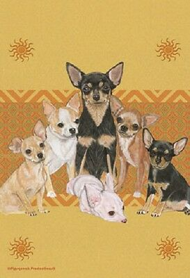 Large Indoor/Outdoor Pipsqueak Flag - Chihuahua Group 49561