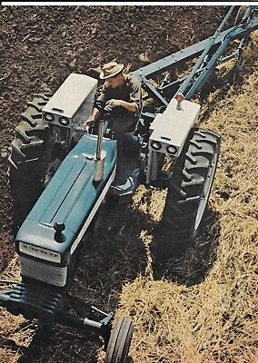 Old Ford Blue 5000 Row Crop Tractor Ad