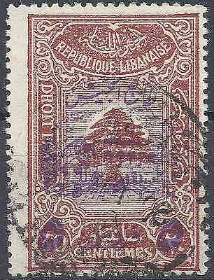 Colony Grand Lebanon N°197 - Obliteration Stamp Has Date - Value