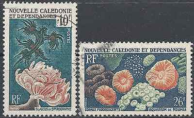 New Caledonia N°293/294 - Obliteration Stamp Has Date