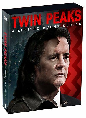 Twin Peaks  2017   9 Dvd  Cofanetto  Serie-Tv