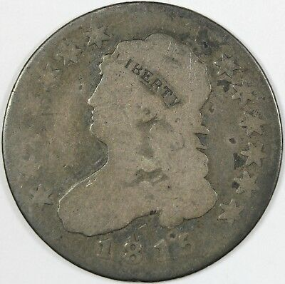 1815 Capped Bust 25C, Almost Good