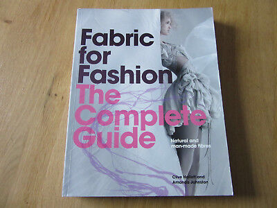 """Mode Buch """"Fabric for Fashion """" The Complete Guide - Hallett /Johnston- Ratgeber"""