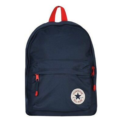 0fbf60a4f6c7 Converse Kids Backpack Poly Backpack Bag Day Pack Navy Blue (Blue) NEW