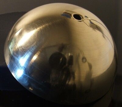 Clock Parts Spares --- Bell Cover Top --- Polished Brass --- Free Postage ---