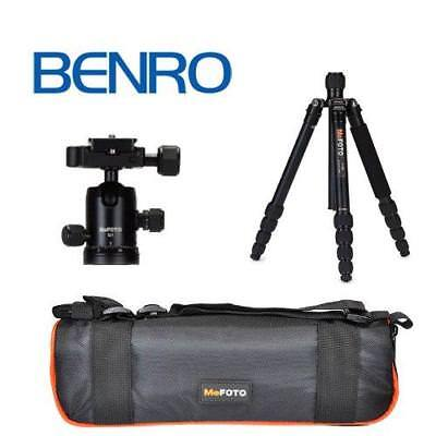 Mefoto Classic Aluminum Roadtrip Travel Tripod/Monopod Kit Black A1350Q1K