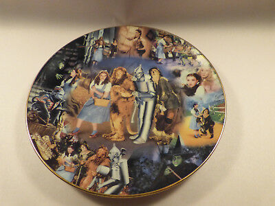"""The Wizard of Oz plate. Scarce """"To Oz"""" series (#3) by Bradford. Limited Edition."""