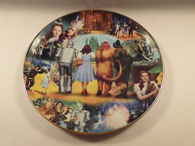 """The Wizard of Oz plate. Scarce """"To Oz"""" series (#6) by Bradford. Limited Edition."""