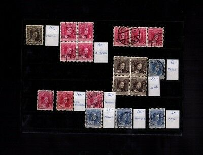 4720 Luxembourg Stamps Used Great Classic Lot HCV RARE $$