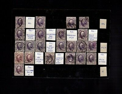 4721 Luxembourg Stamps Used Great Classic Lot HCV RARE $$