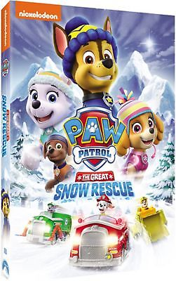 Paw Patrol The Great Snow Rescue Region 1 DVD Brand New