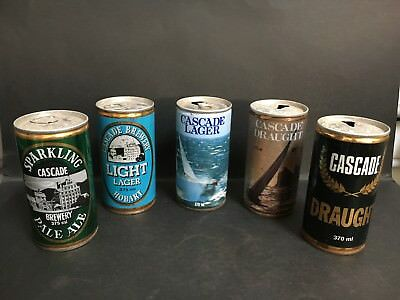 Cascade Steel Beer Can Lot Of 5 - 2 X Sydney To Hobart Race