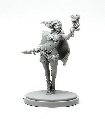 █ 30mm Resin Kingdom Death Pinup White Speaker ONLY Figure WH076