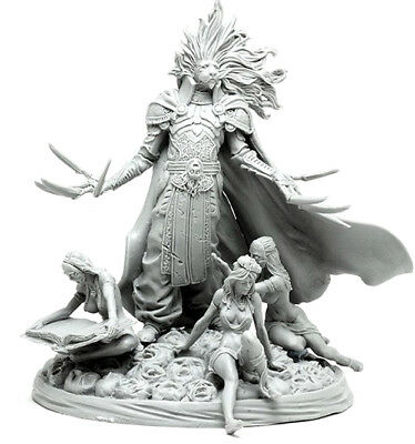 █ 54mm Resin Kingdom Death Lion knight Unpainted Unassembled ONLY Figure WH284