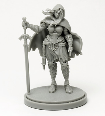 30mm Resin Kingdom Death Allison the Twilight Knight Unpainted ONLY Figure WH302