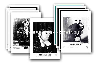 GEORGE MICHAEL  - 10 promotional photos - collectable postcard set # 1