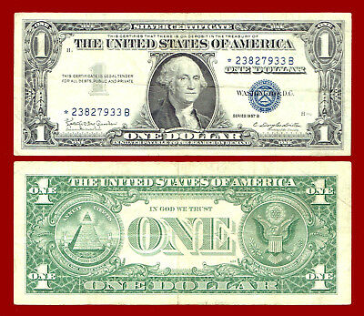 1957B $1 SILVER CERTIFICATE in holder W60143199A GRANAHAN-DILLON ...