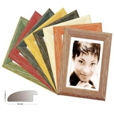 Wood Frame Miami, in 8 Colours in Pine, Photo Frame, Picture Frame Pine