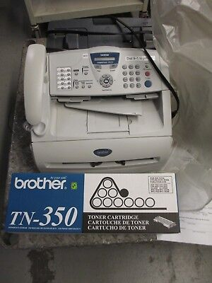 brothers fax machine 2820 w/ extra toner