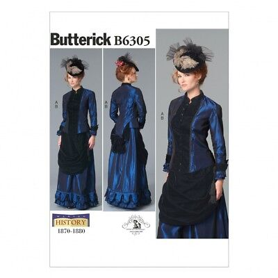 SIMPLICITY LADIES Sewing Pattern 2172 Victorian Era Coat, Skirt ...