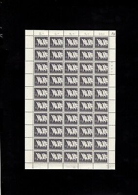4774 Germany Deutsche Bundespost Stamps Sheet Mint Never Hinged HCV VERY RARE