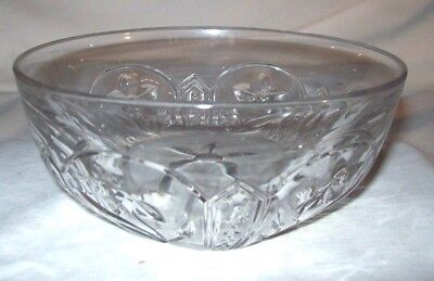 Superb EAPG Heisey Daffodil No. 7011 Mold Bowl - Signed