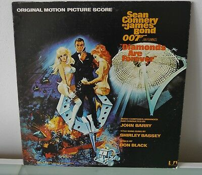 James Bond,,, Original Motion Picture Score,,,made In Usa,, From 1971 !!!