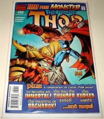 The Mighty THOR (Vol. 2) # 32 Marvel Comic (Feb 2001)  FN/VFN  100 PAGE MONSTER
