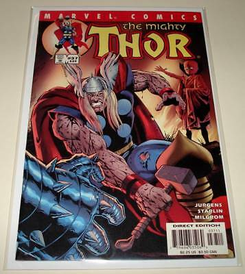 The Mighty THOR (Vol. 2) # 37 Marvel Comic (July 2001)  FN/VFN