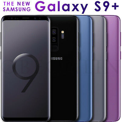 Samsung Galaxy S9+ Plus SM-G965F/DS Dual Sim (FACTORY UNLOCKED) 128GB 6GB RAM