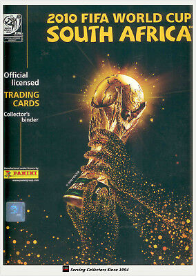 0422e0060 2010 Panini South Africa World Cup Soccer Trading Card Official Album -Rare