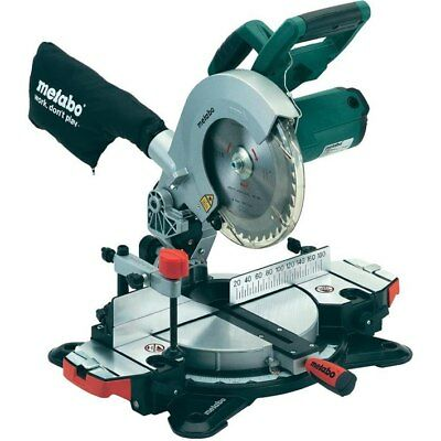 Metabo 216mm Crosscut Saw 1350w Laser Cut #KS216M-LASERCUT