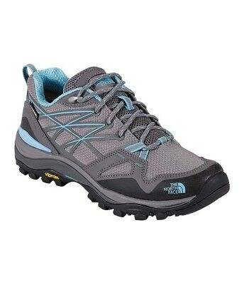 The North Face Womens Hedgehog Fastpack Gtx Hiking Shoes - Gull Grey/Blue
