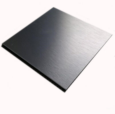 1pcs Nice 304 Stainless Steel Fine Polished Plate Sheet 0.35 1 2mm 10*10-30*30cm