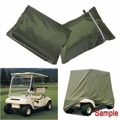 Waterproof Golf Cart Cover 2 Passengers Seater For Yamaha Carts EZ GO Club Cars