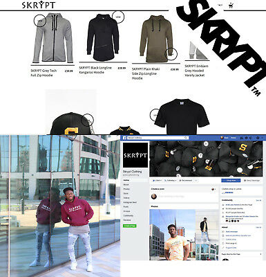 Clothing Brand for Sale Streetwear Company Fashion Clothing Business For Sale