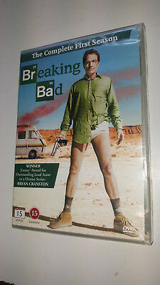 * New Sealed Tv Series Dvd  * Breaking Bad The Complete First Season 1 *