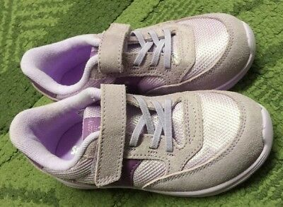 c6cc1a7424 SAUCONY JAZZ LITE Toddler Girl's Shoes Sneaker Purple Size 8 New W/O Box