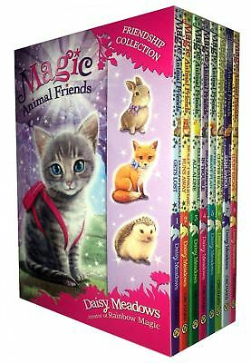 Magic Animal Friends Series 1 & 2 - 8 Books Box Set Collection (Books 1-8)