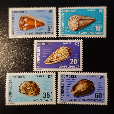 France Colonie Comores N°72/76 Neuf ** Luxe Mnh