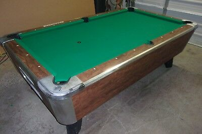 Valley 7 Ft. Coin Op Pool Table #PT196