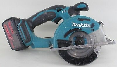 "used Makita 18V XSC01 5 3/8"" Cordless Battery Metal Circular Saw LXT 18 Volt"