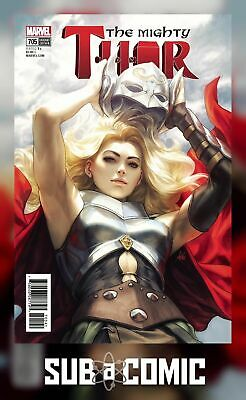 MIGHTY THOR #705 ARTGERM VARIANT LEGACY (MARVEL 2018 1st Print) COMIC