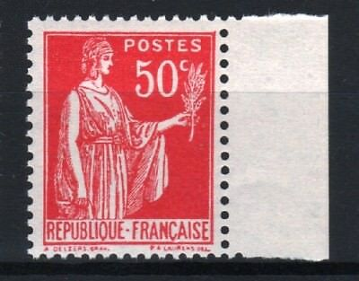 "FRANCE STAMP TIMBRE 283 s "" PAIX 50c FAUX DE BARCELONE "" NEUF xx LUXE R762"