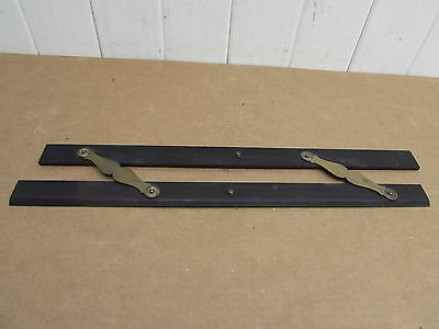 Vintage Brass and Ebony Maritime Parallel ruler